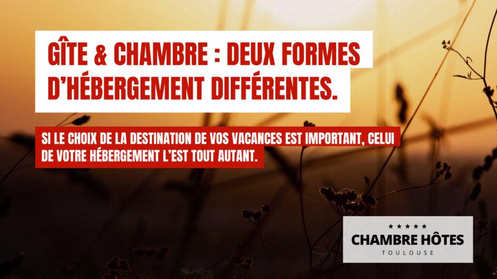 Gîte & Chambre : deux formes d'hébergement différentes. Si le choix de la destination de vos vacances est important, celui de votre hébergement l'est tout autant.