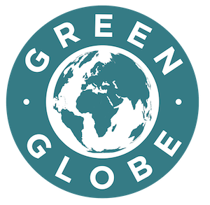 Label Green Globe