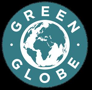 Label Green Globe